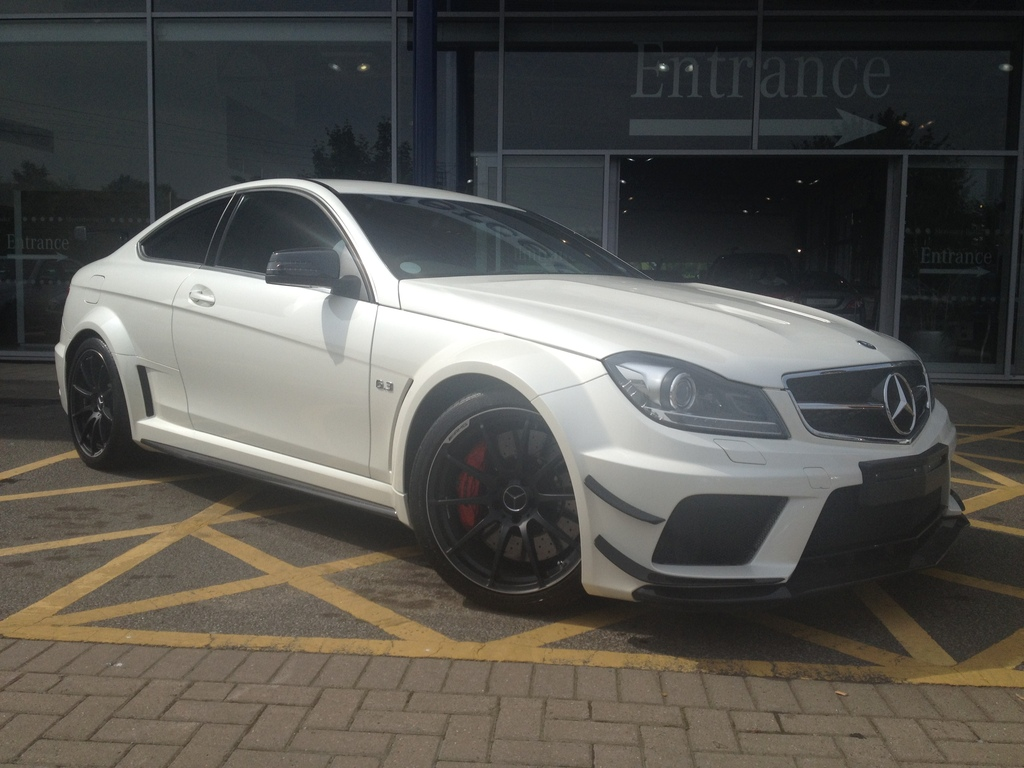 for sale mercedes benz c 63 amg black series gtspirit