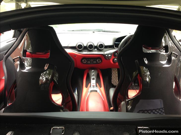 f12 berlinetta interior. for sale 2013 ferrari f12 berlinetta complete with 21000 of interior carbon fiber upgrades gtspirit
