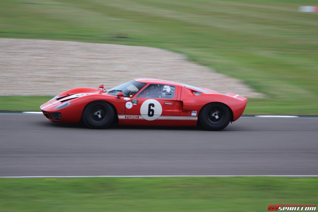 Goodwood Revival 2013 Whitsun Trophy Ford GT40
