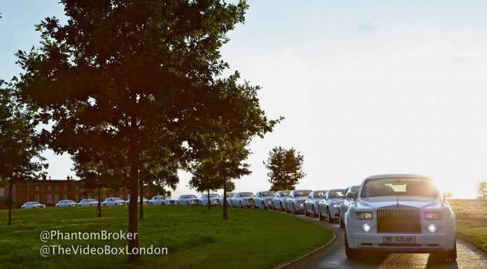 Photo Of The Day: 17 White Rolls-Royces