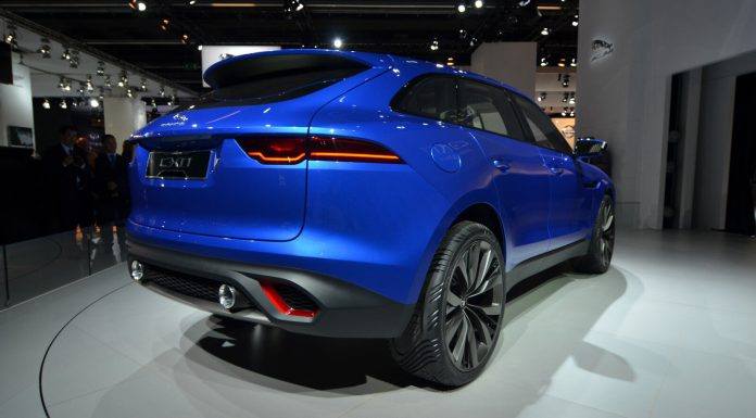 Jaguar C-X17 Sports Crossover Concept Rear