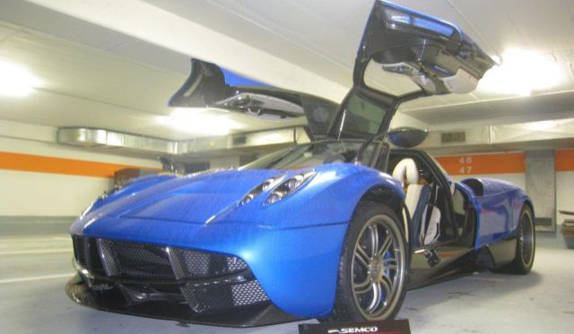 Want a Blue Pagani Huayra? This Is It!