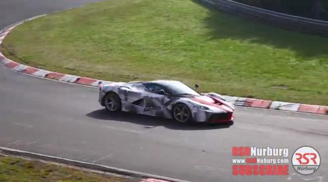 LaFerrari Nurburgring Spy Video