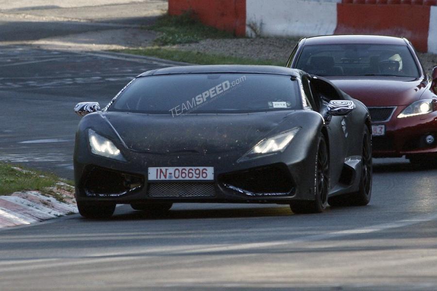 2015 Lamborghini Cabrera Tackles the 'Ring!