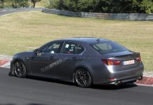 BMW M5-Fighting 2015 Lexus GS-F Begins Testing