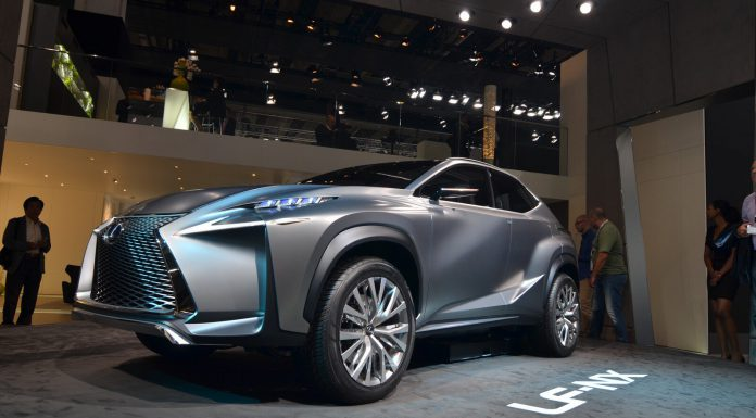 Lexus LF NX Crossover Concept