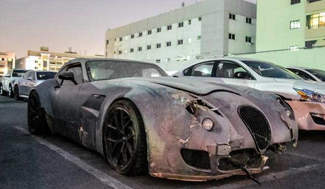 Wiesmann GT MF5 Wreck Spotted in Dubai