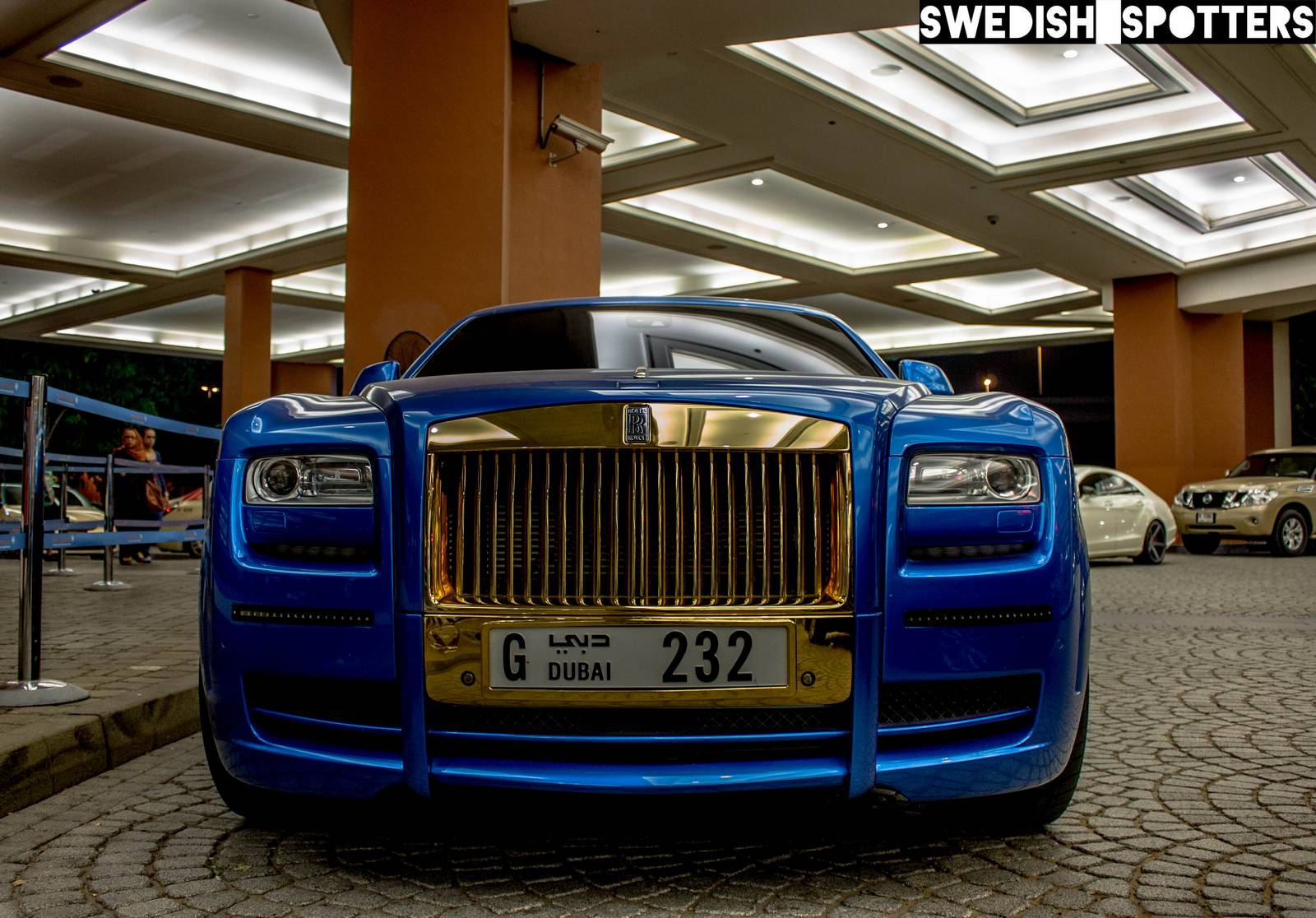 Mansory Gold Rolls Royce Ghost Spotted In Dubai Gtspirit