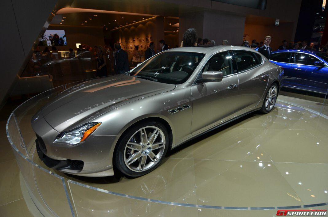 Maserati Quattroporte Ermenegildo Zegna Limited Edition at Frankfurt