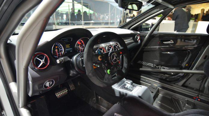 Mercedes-Benz CLA 45 AMG Racing Series Concept Interior