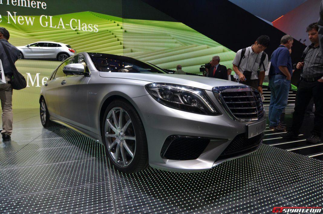 Mercedes Benz S 63 AMG