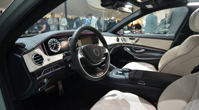 Mercedes Benz S 63 AMG Interior