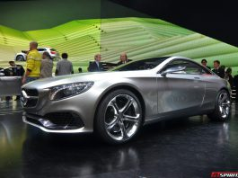 Mercedes-Benz S-Class Coupe Concept Side