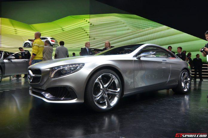 Mercedes-Benz S-Class Coupe Concept Side