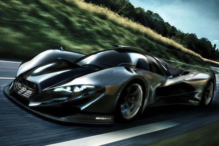 The Mercedes-Benz SL GTR Concept; A Designers Fantasy