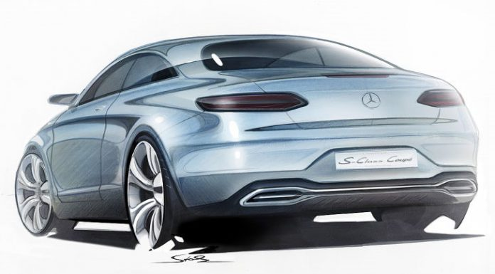 This Could Be The 2014 Mercedes-Benz S-Class Coupe