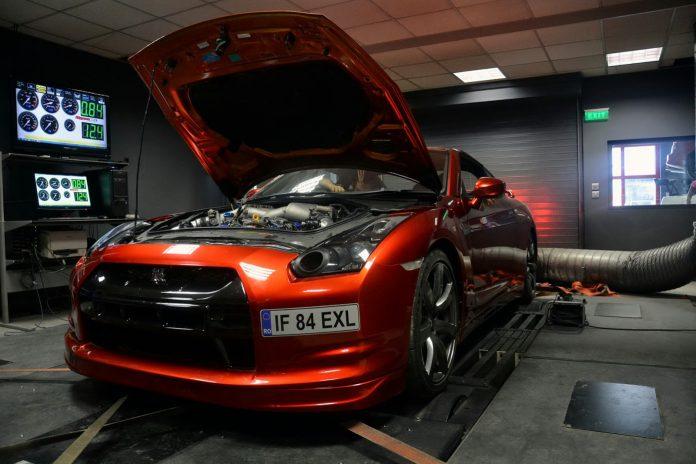 This Burnt Orange Nissan GT-R is Europe's Fastest