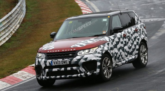 Near Production-Ready Range Rover RS Testing