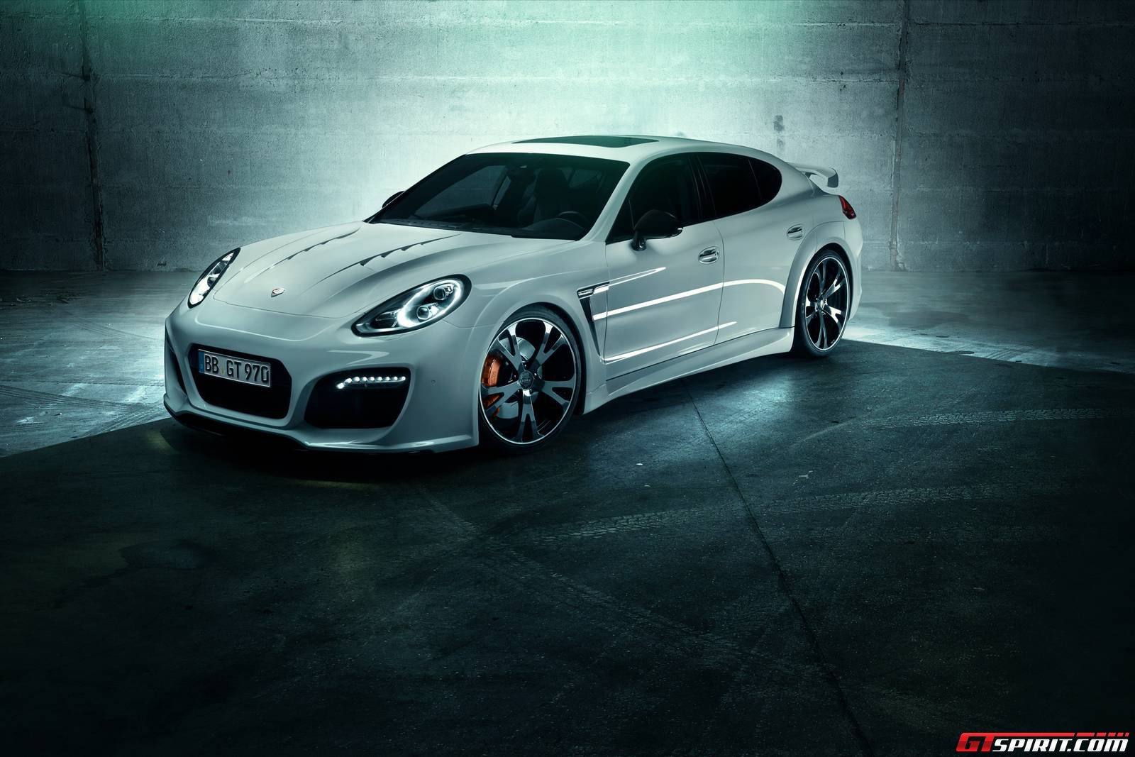 2014 porsche panamera interior car tuning - After Previewing Its Radical Porsche Panamera Package A Few Days Ago Techart Has Officially Revealed The Techart Grandgt Ahead Of Its World Debut At The