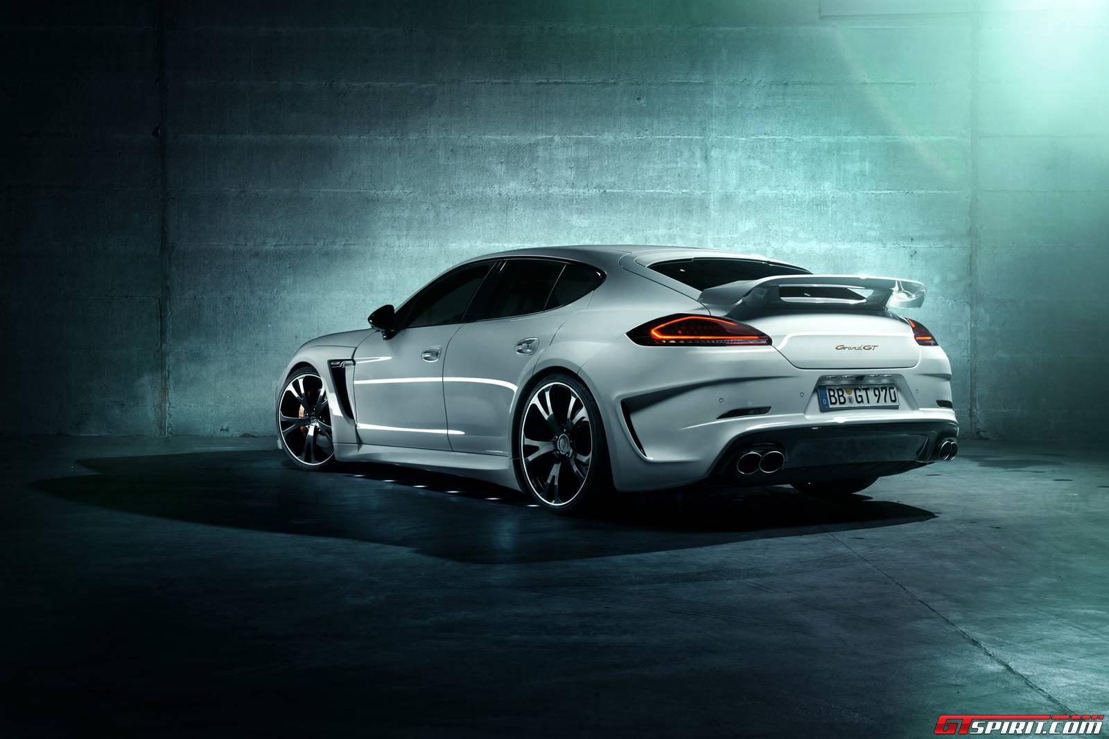 Official 2014 Porsche Panamera Based Techart Grandgt