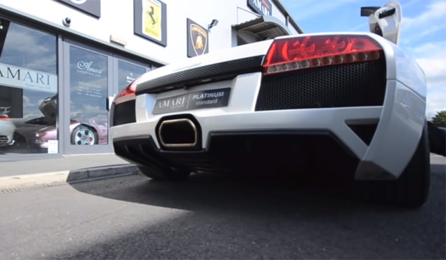 Lamborghini Murcielago Goes From One Extreme to Another With Larini Exhaust