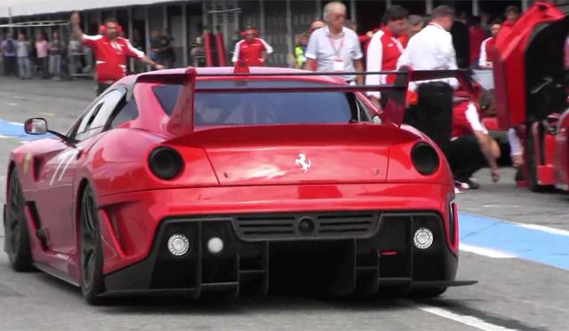 Ferraris Scream at Hockenheim During Latest Ferrari Corse Clienti Event!