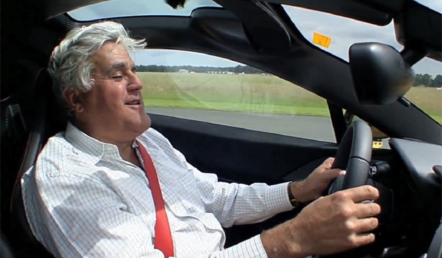 Jay Leno Drives and Purchases McLaren P1