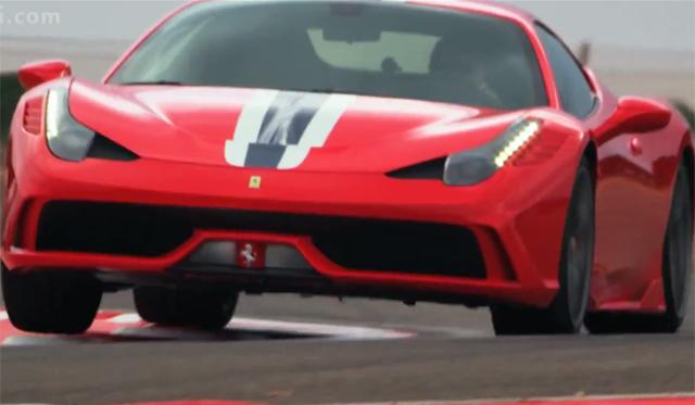 Ferrari 458 Speciale Screams in Official Clip!