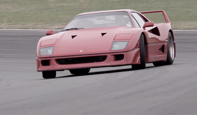 Car Pornography At Its Finest: Chris Harris Thrashes Ferrari F40 and F50!