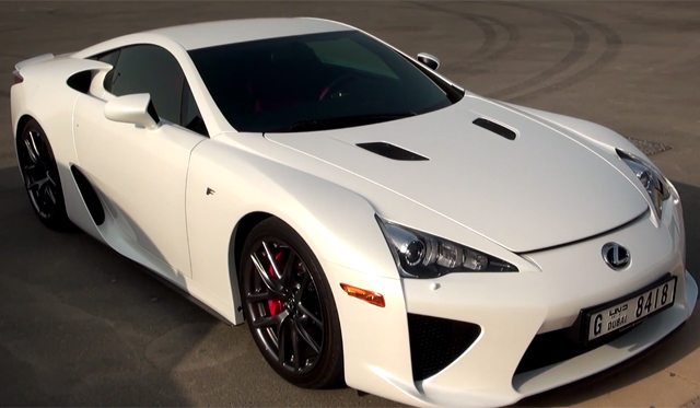 Lexus LFA Flybys at 200+km/h? Music to our Ears