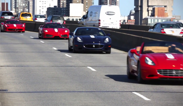 New York Hosts Epic Ferrari Rally