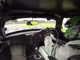 Chris Harris Shows Who's Boss in Jaguar Lister Coupe
