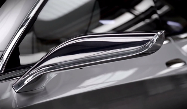 Mercedes-Benz S-Class Coupe Concept Officially Teased