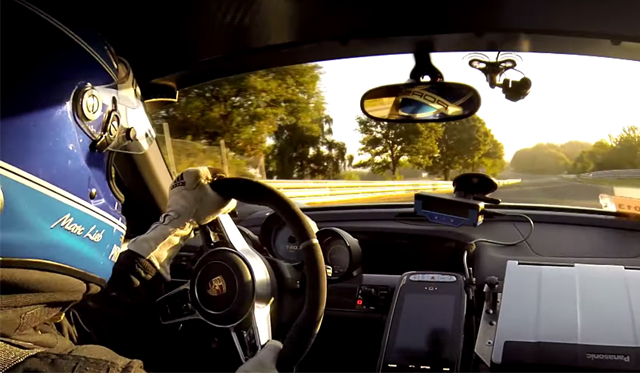 This Is The 2014 Porsche 918 Spyder's Record-Setting Nurburgring Lap