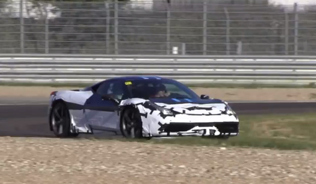Ferrari 458 Speciale Sprints at Fiorano
