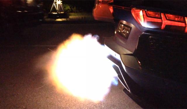 Novitec Torado Lamborghini Aventador Spits Flames
