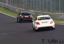 Brothers In Arms: Mercedes CLK63 AMG Black vs C63 AMG Black