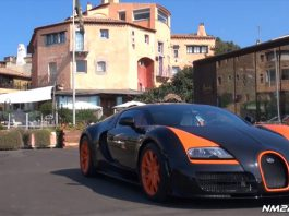 This is What It's Like Riding in the Bugatti Veyron Grand Sport Vitesse WRC