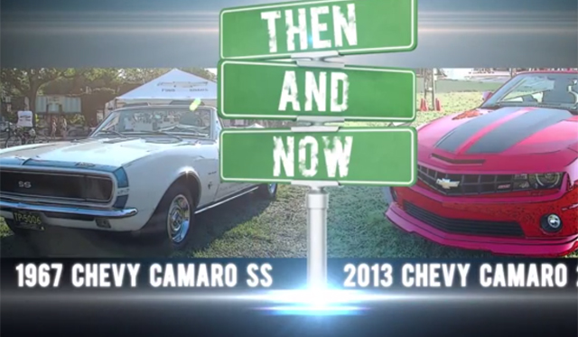 2013 Chevrolet Camaro Meets Its Original-Self