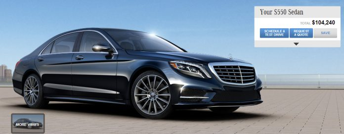 Design Your Very Own 2014 Mercedes-Benz S-Class