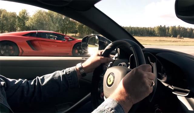 What's Faster, the Lamborghini Aventador or Ferrari F12?