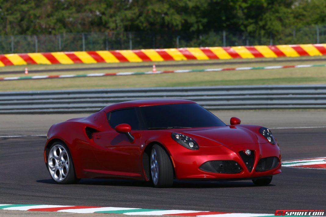 Former F1 Champ Giancarlo Fisichella Slides Alfa Romeo 4C