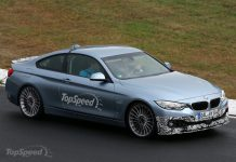 2014 Alpina B4 Coupe Track Testing
