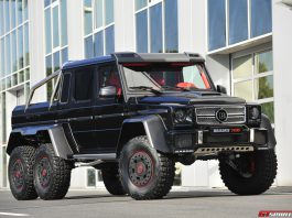 Second Brabus B63S 700 6x6 Could be Yours