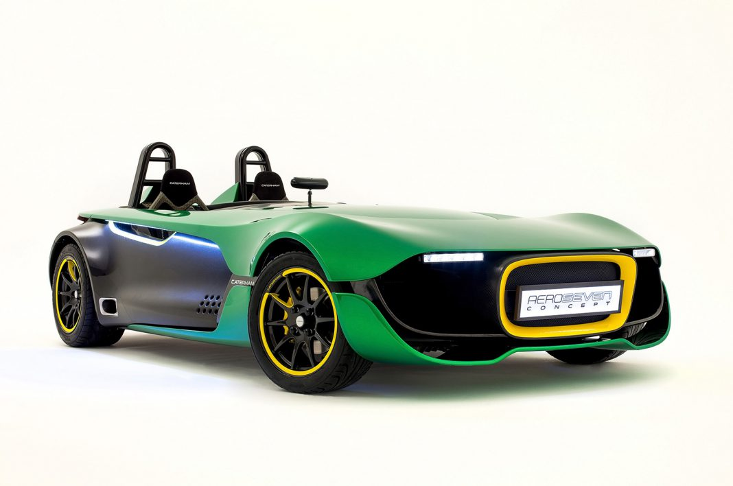Official: 2014 Caterham AeroSeven Concept