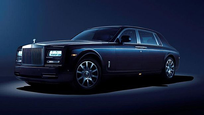 Official: 2014 Rolls-Royce Celestial Concept
