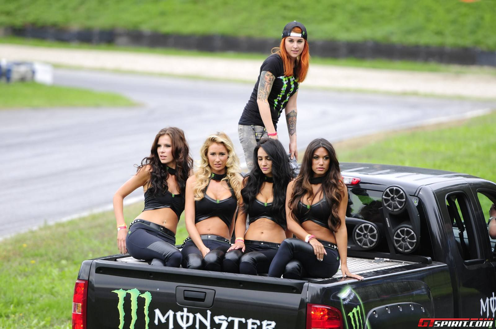 Cars And Girls Monster Energy Girls At Rallycross Austria Gtspirit