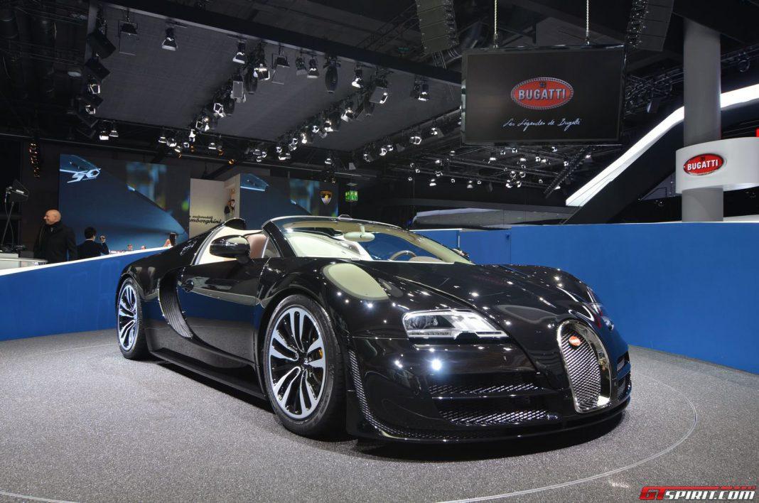 Frankfurt 2013: Bugatti Veyron Vitesse Legend Edition