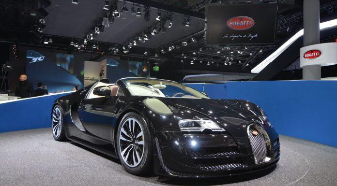 "Frankfurt 2013: Bugatti Veyron Vitesse Legend Edition ""Jean Bugatti"""