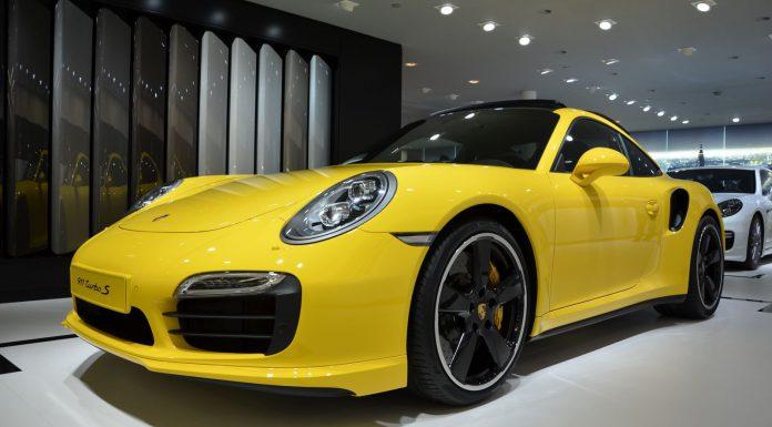 Frankfurt 2013: 2014 Porsche 911 Turbo S